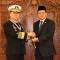Penganugerahan Tanda Kehormatan Bintang Jalasena Utama Kepada Laksamana Jung Ho Sub