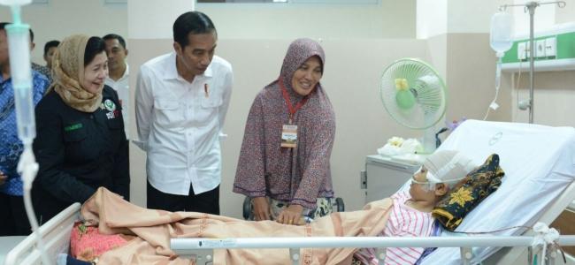 Kunjungi Korban, Presiden Jokowi Sebut Penanganan Korban Gempa di Pidie Jaya, Aceh, Sudah Sangat Baik