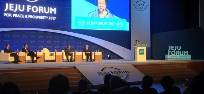 Presiden RI Ke-5 Megawati Soekarnoputri di Jeju Forum: Pancasila Mampu Menjawab Persoalan Dunia