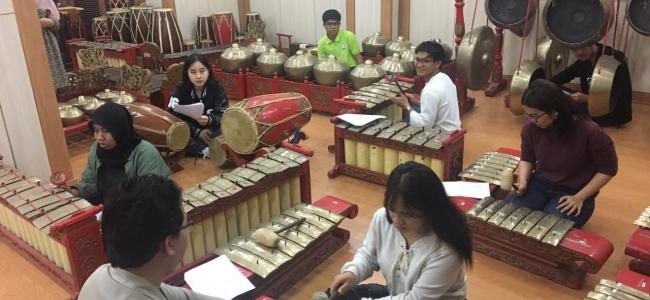 주한인도네시아 대사관 한국인을 위한 가믈란 수업 개최