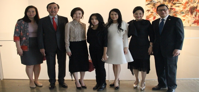 Indonesian Ambassador Hosted Art Exhibition By Southeast Asia's Most Prominent Contemporary Artists From Indonesia