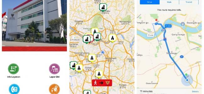 Maksimalkan Pelayanan, KBRI Seoul Luncurkan Aplikasi Mobile m-KBRI Seoul
